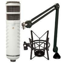 Rode Podcaster Booming Kit: Podcaster, PSA1 Arm, and PSM1