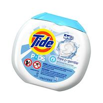 PODS Free & Gentle HE Turbo Laundry Detergent Pacs,
