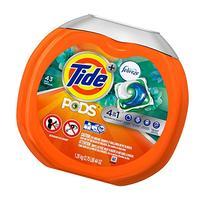 Tide PODS Plus Febreze Laundry Detergent Packs Bag,