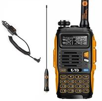 BaoFeng GT-3 Mark-II+Remote Speaker Pofung Transceiver, FM