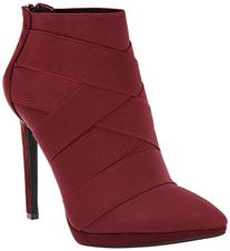 Women's Jessica Simpson 'Breen' Pointy Toe Bootie Oxblood