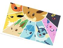 Pokemon Eevee Evolution Playmat by HiddenSupplies.com