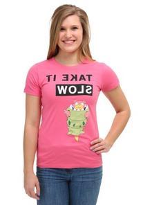 Womens Pokemon SlowBro Long Walks T-Shirt