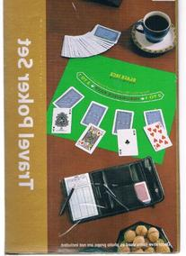 Travel Poker Set with Travel Pouch