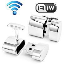 Ravi Ratan Polished Silver Oval WIFI and 2GB USB Combination