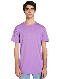 American Apparel  Poly-Cotton Short Sleeve Crew Neck, Orchid