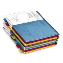 Poly Expanding Pocket Index Dividers, Multicolor, 8-Tab Set