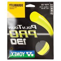 Poly Tour Pro 130 16G Yellow Tennis String