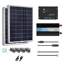 RENOGY® 200 Watt 12 Volt Polycrystalline Solar Complete Kit