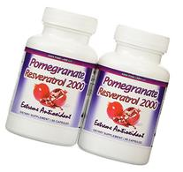 Eden Pond Pomegranate Resveratrol Fat Burner, 60 Capsules, 2