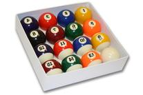 Pool Table Billiard Ball Set, Art Number Style