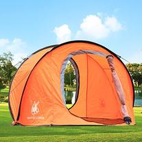 Large Pop Up Backpacking Camping Hiking Tent Automatic