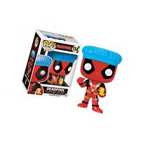 Funko POP! Marvel Bath Time Deadpool Exclusive 114 Vinyl