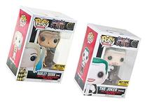 Funko Pop! Suicide Squad Harley Quinn and Joker Exclusive
