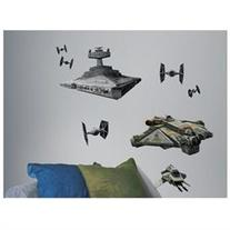 Popular Characters Star Wars Rebel and Imperial Ships Peel