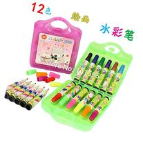BuildentNEW Popular 12 Colors Painting Water Color Pen