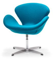 Zuo Pori Arm Chair in Island Blue