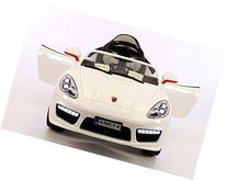 Porsche Boxster Style 12V Battery Power, 2 Motors Kids Ride-