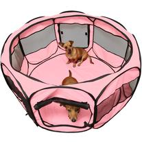 OxGord Portable 45 Octagon Exercise Kennel Pet Playpen -