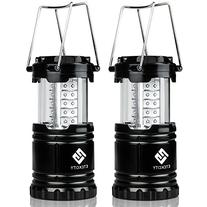 Etekcity 2 Pack Portable Outdoor LED Camping Lantern with 6