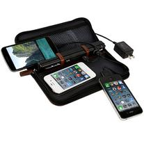 Portable Charging Fold-Out Valet with Sync Cables by Eddie