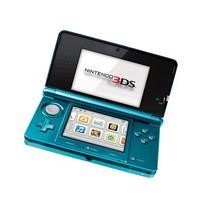 Portable, Nintendo 3DS - Aqua Blue Consumer Electronic
