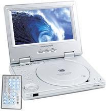 """Protron 7"""" Portable DVD Player - PDV-288 w/ Remote &"""
