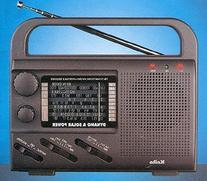 Kaito KA007, 4 Way Powered Portable Emergency Radio, Dynamo