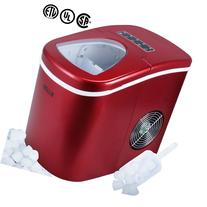 Della© Portable Ice Maker w/Easy-Touch, Yield Up To 26