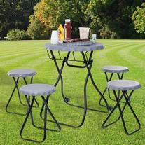 5-Piece Portable Picnic Table Tailgating Set