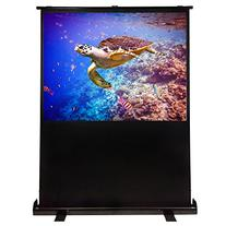 VonHaus 60-inch Portable Projector Screen - Freestanding Pull Up Widescreen Home Theater or Office Presentation Projection Screen with 4:3 Aspect