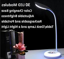 Portable Rechargeable Adjustable Brightness LED Table/Desk