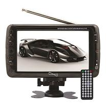 SuperSonic Portable Widescreen LCD Display with Digital TV
