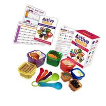 Active Kitchen 7-Piece Portion Control Containers with