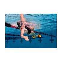 Finis Positive Drive Swim Fins, Yellow/Black
