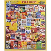White Mountain Puzzles Potato Chips - 1000 Piece Jigsaw