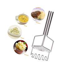 Homdox Potato Masher - Stainless Steel Potato Ricer Crusher