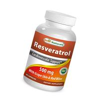 Best Naturals Resveratrol 500 mg 60 Capsules