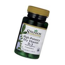 Swanson High Potency Vitamin D-3 1000 Iu  60 Capsules