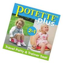 Potette Plus 2-in-1 On-The-Go Travel Potty & Trainer Seat -