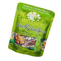Wellness Pouch Cat Turkey & Chicken 3 oz 12 Pack