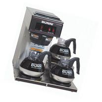 Pourover Commercial Coffee Brewer w 3 Lower Warmers
