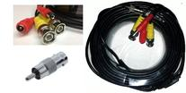 Acelevel Premium Quality 60 Feet Video Power BNC RCA Cable