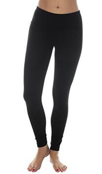 90 Degree by Reflex Power Flex Yoga Pants - Black - Small