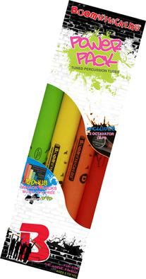 Boomwhacker Power Pack - Includes 8-Note Diatonic Set w/ Octivator Caps, CDW1