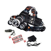Topoint 5000 Lumen High Power Led Headlamp Rechargeable