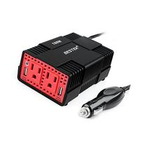 BESTEK 150W Power Inverter Dual 110V AC Outlets and 4.8A