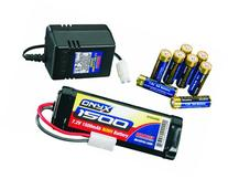 Duratrax Power Kit 1500 7.2V NiMH 2-3 Hour 8AA Wall Charger