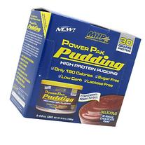 MHP Power Pak Pudding Chocolate 6-8.8 oz Cans Protein
