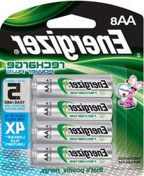 Energizer Rechargeable AA Batteries, NiMH, 2300 mAh, Pre-
